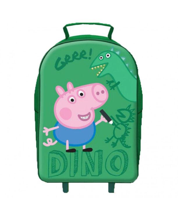 Peppa Pig Trolley morbido da viaggio George