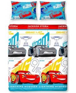 Parure copripiumino doppio Disney Cars 3