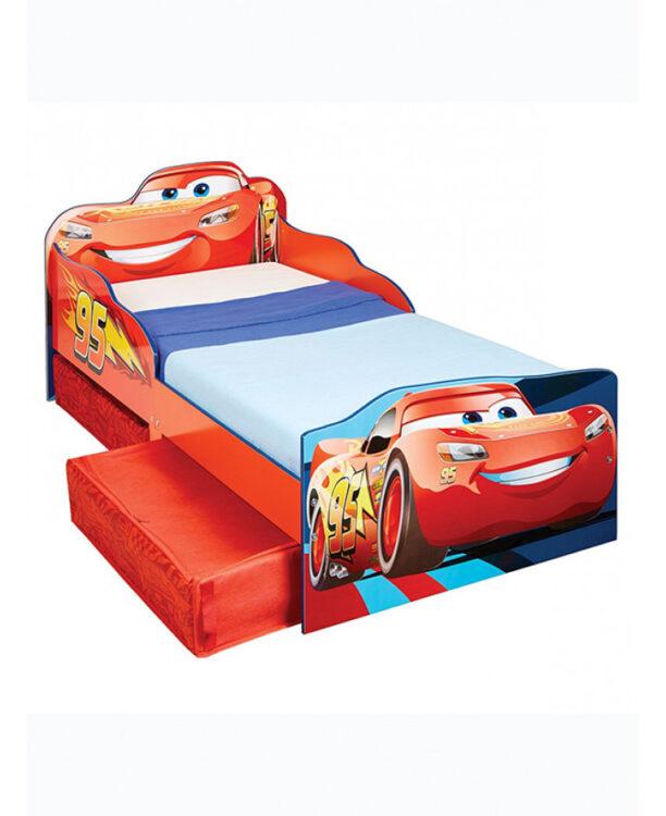 Lettino Disney Cars con cassetti