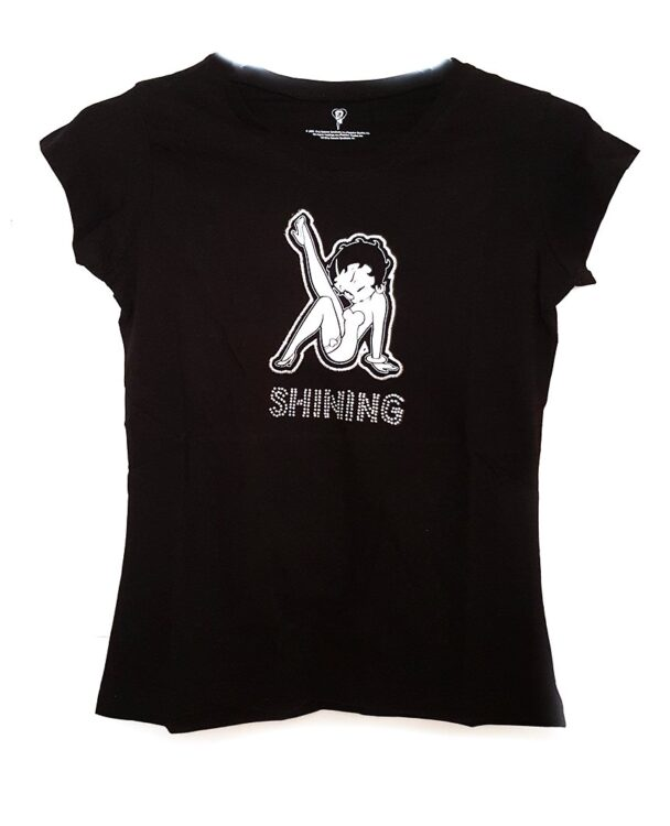 T-shirt ragazza Betty Boop Shining