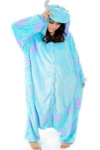 Pigiamone Kigurumi adulto Monsters & Co Sulley Large