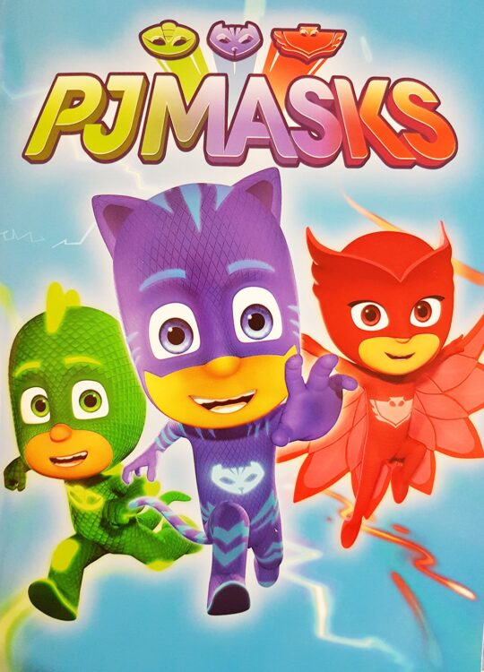 Quadernone Pj Masks Super Pigiamini
