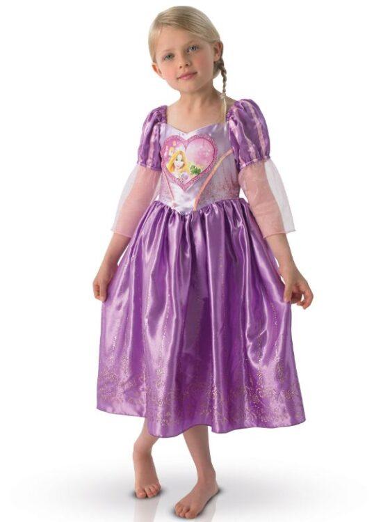 Costume Rapunzel Love taglia 5-6 anni