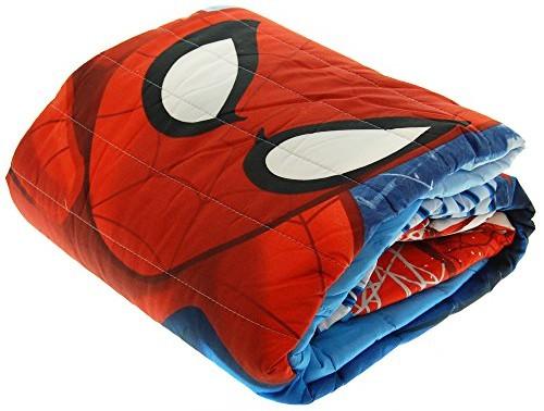 Copriletto trapuntato letto singolo Spiderman
