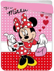 Copriletto trapuntato letto singolo Minnie