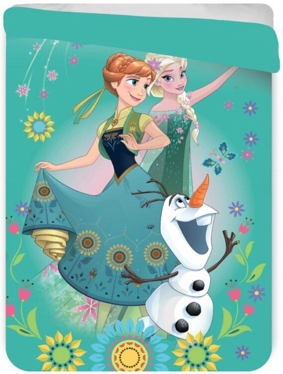 Copriletto trapuntato letto singolo Disney Frozen
