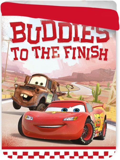 Copriletto trapuntato letto singolo Disney Cars