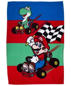 Plaid Pile Nintendo Super Mario Kart