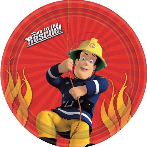 Piatti per festa Sam il Pompiere