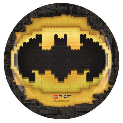 Lego Batman Piatti festa 23 cm
