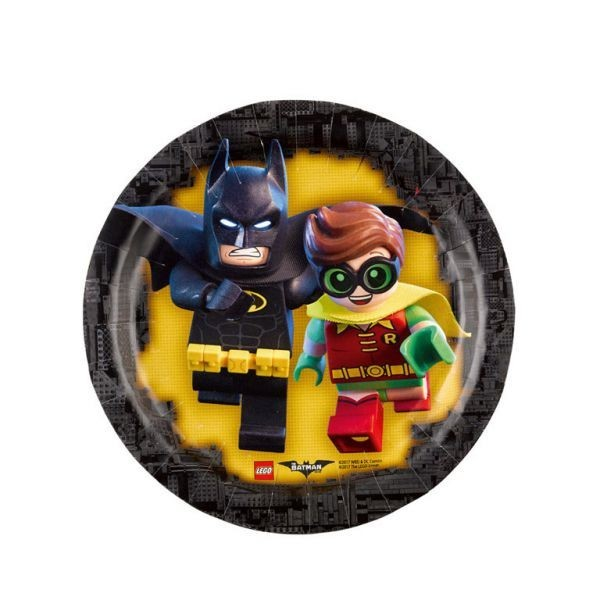 Lego Batman Piatti torta 18 cm