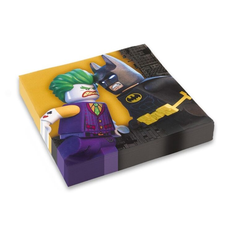 Lego Batman Tovaglioli doppio velo