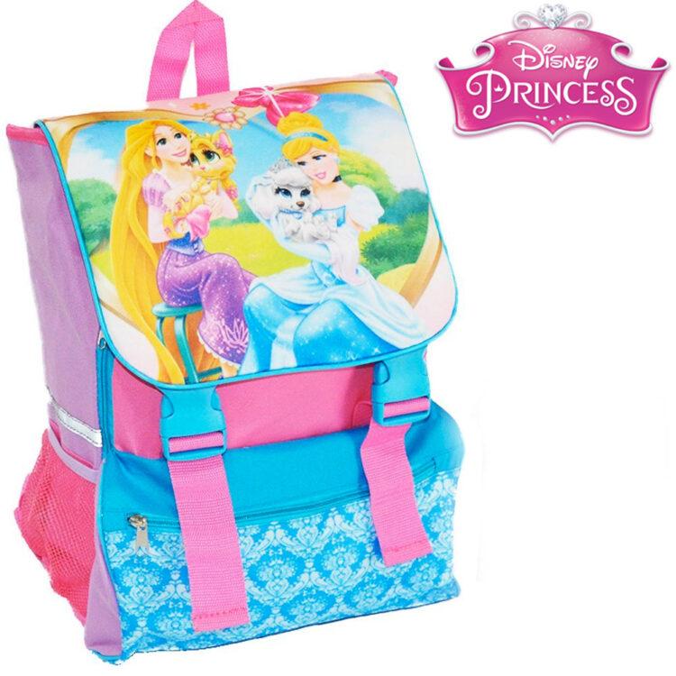 Zaino estensibile Disney Princess Rapunzel e Cenerentola