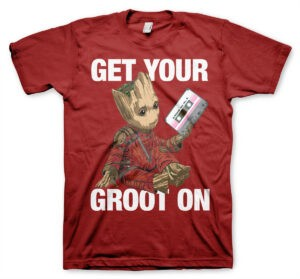 Guardiani della Galassia - T-shirt Get your Groot on
