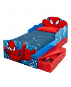 Lettino Spiderman con cassetti