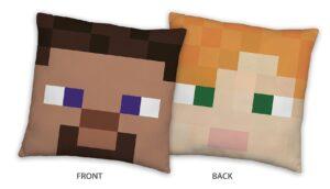 Minecraft cuscino imbottito 40x40 cm