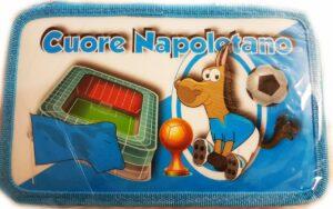 Astuccio completo 3 zip Cuore Napoletano