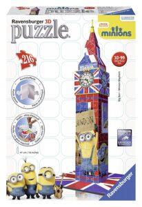 PUZZLE 3D BIG BEN MINIONS 12589