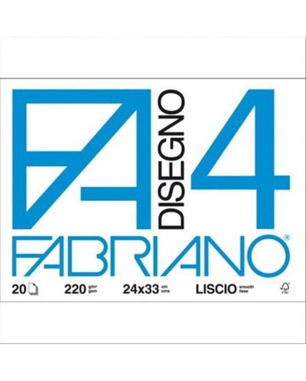 BLOCCO FABRIANO F4 20FG 33X48 LISCIO 05200797