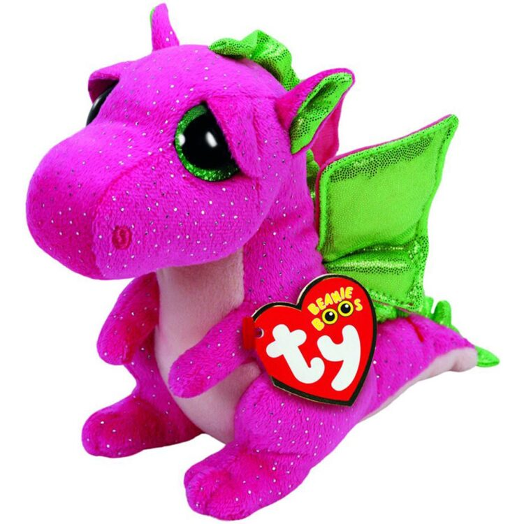 Peluche Draghetto rosa TY Beanie Boo's Darla