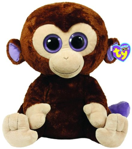 BEANIE BOO Peluche 42 cm Scimpanzè Coconut TY