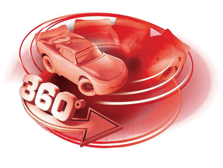 Disney Cars 3 Macchina radiocomandata Saetta Mc Queen 1:16