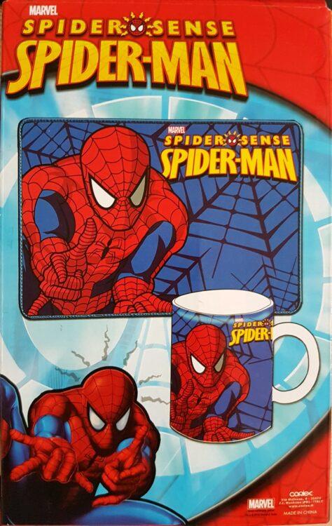 Spiderman Set colazione tovaglietta e tazza mug