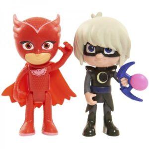 Pj Masks Blister 2 personaggi Gufetta e Lunetta