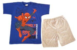 Completo T-shirt e bermuda Spiderman