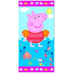 Asciugamano Telo Mare Peppa Pig Braccioli