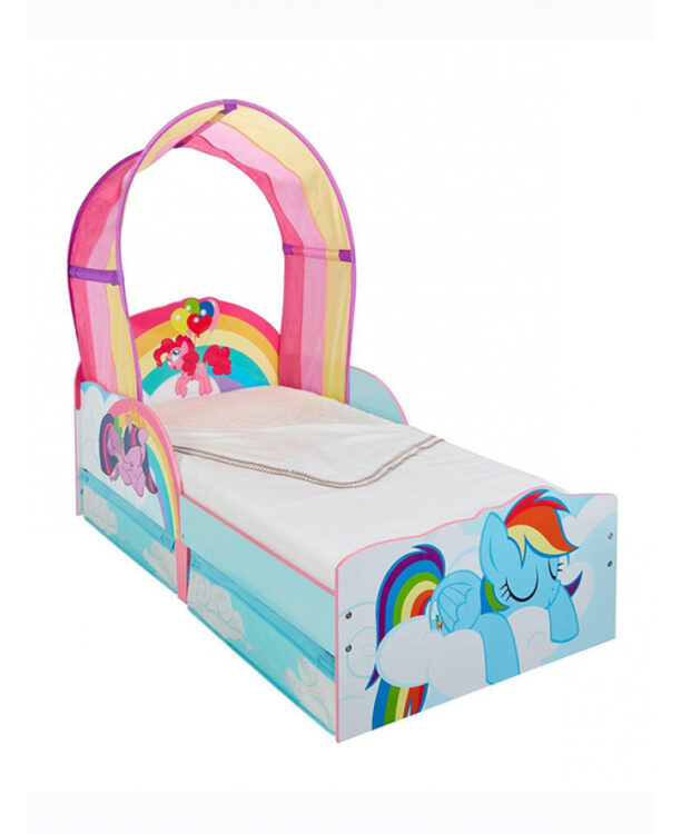 My Little Pony lettino bimba con cassetti