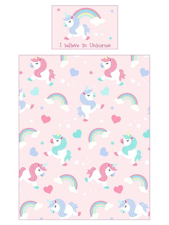 Unicorni Set Lettino 4in1