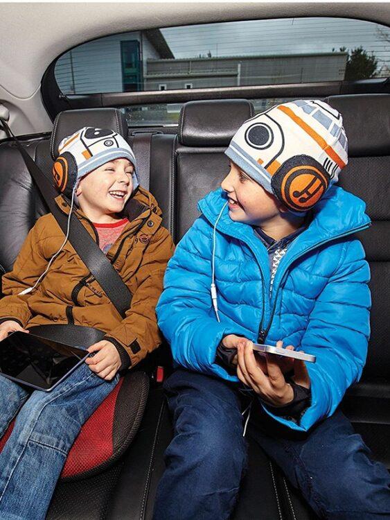 Star Wars Cappello con Cuffie audio incorporate BB-8