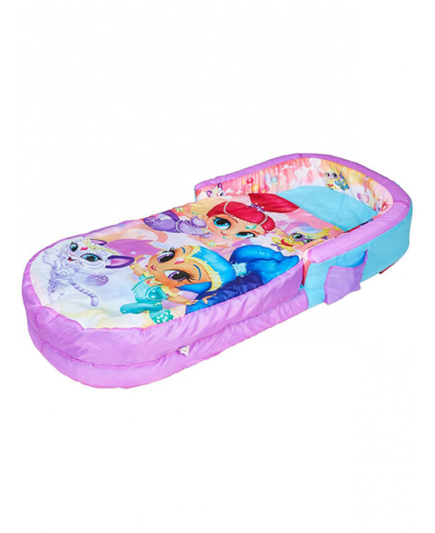 Shimmer and Shine Letto pronto gonfiabile