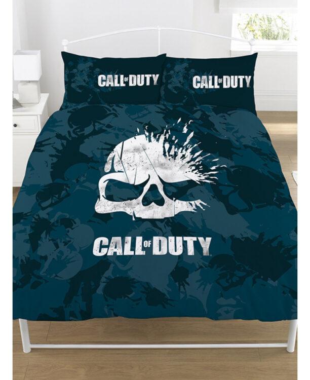 Call of Duty Parure copripiumino matrimoniale Broken Skull