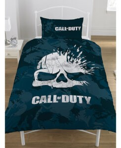 Call of Duty Parure copripiumino singolo Broken Skull