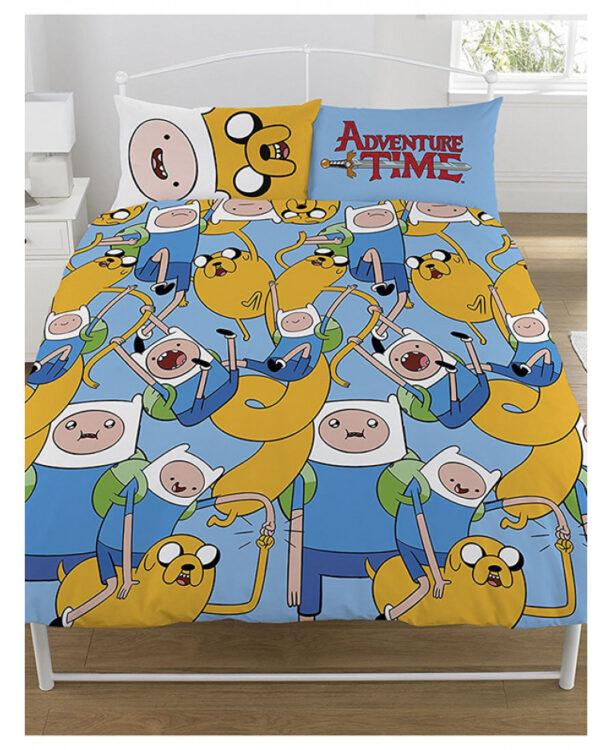 Adventure Time Parure copripiumino matrimoniale