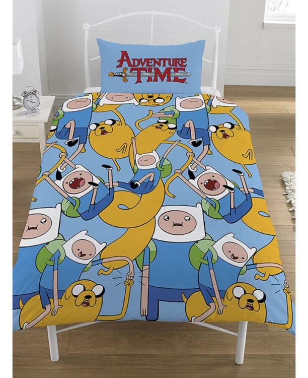 Adventure Time Parure copripiumino singolo