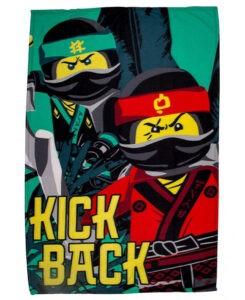 Plaid in pile Lego Ninjago Movie