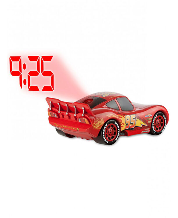 Disney Cars Sveglia proiettore Saetta Mc Queen