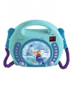 Disney Frozen CD Player con Microfoni