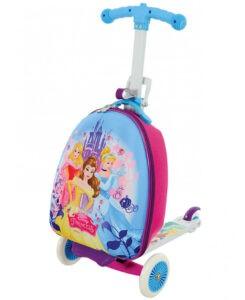 Principesse Disney Monopattino con valigia 3 in 1