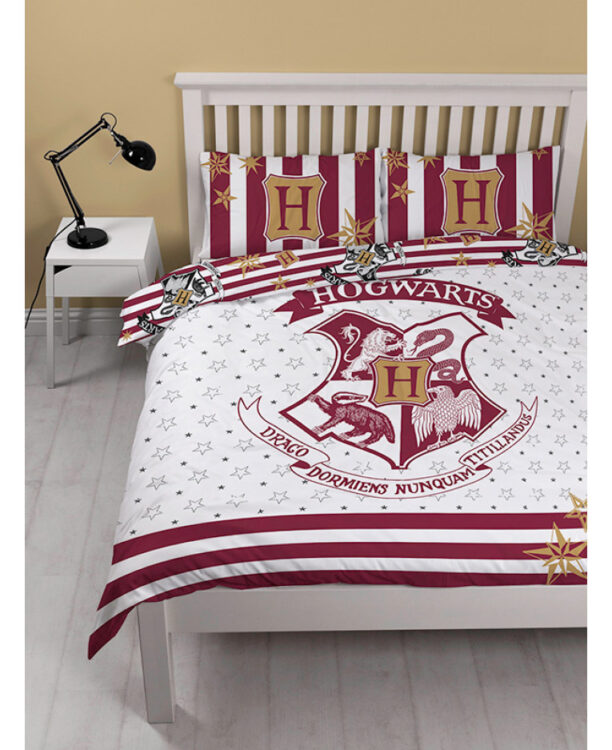 Harry Potter Muggles Double Duvet Cover And Pillowcase Set