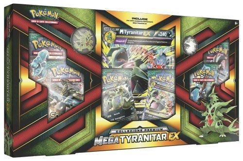 Pokemon Collezione Premium Mega Tyranitar-EX