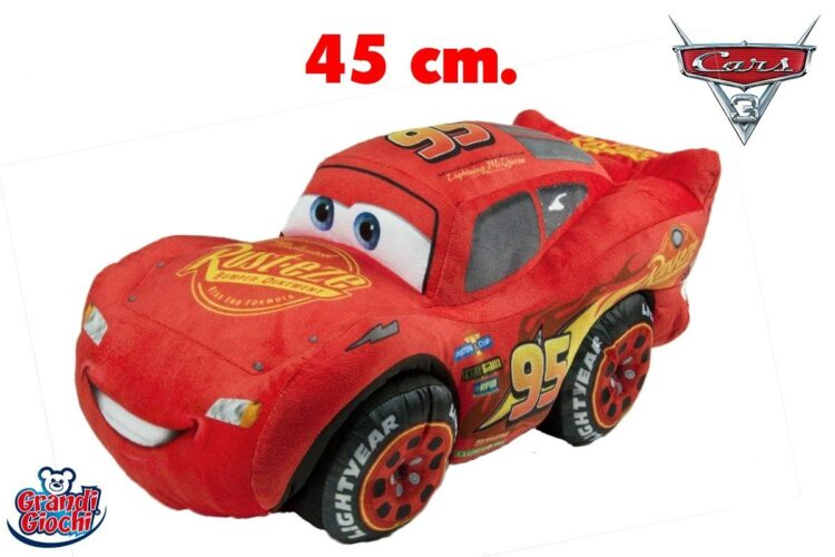 PELUCHE CARS3 SAETTA MCQUEEN 45 CM 01258