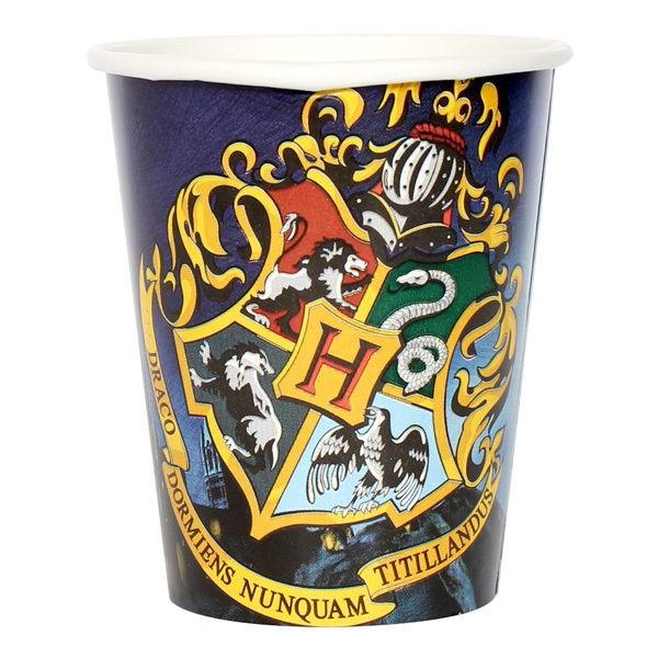 Harry Potter confezione 8 bicchieri festa a tema