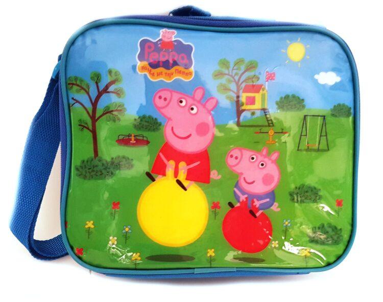 Peppa Pig e George Set Portamerenda e Borraccia