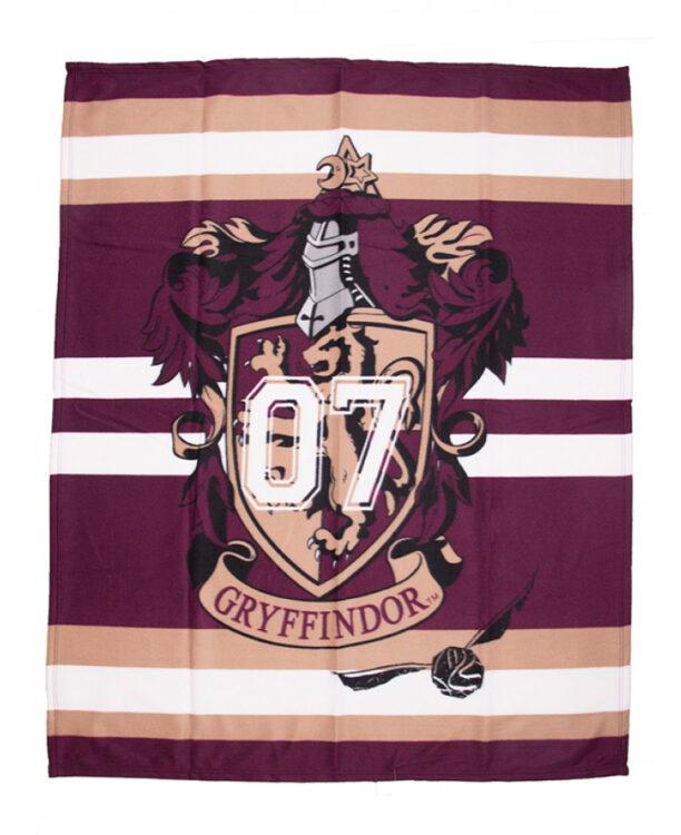 Harry Potter Plaid pile Grifondoro