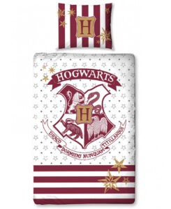 Harry Potter Hogwarts Parure copripiumino singolo