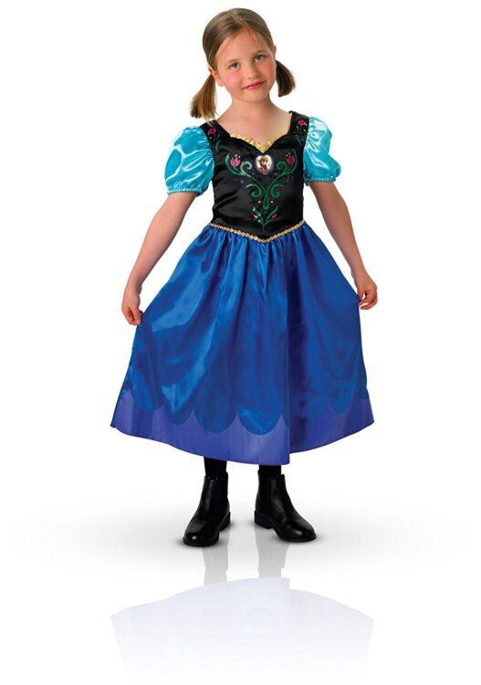 Costume bambina Disney Frozen Anna Classic